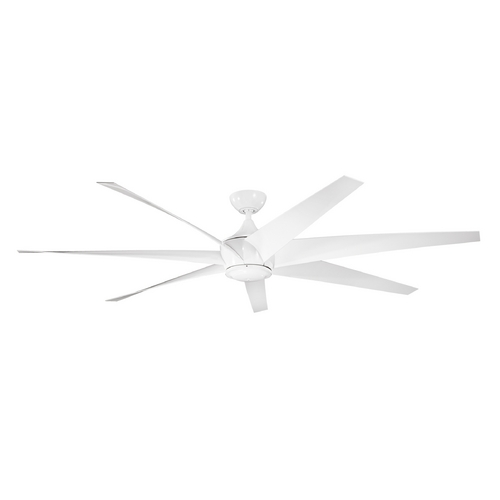 Kichler Lighting Kichler Lighting Lehr White Ceiling Fan Without Light 310115WH