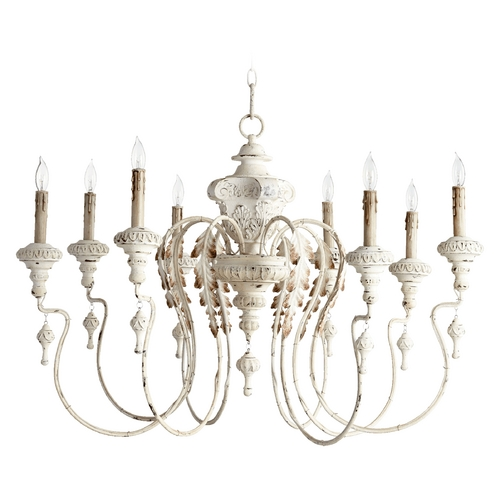 Quorum Lighting Quorum Lighting Salento Persian White Chandelier 6006-8-70