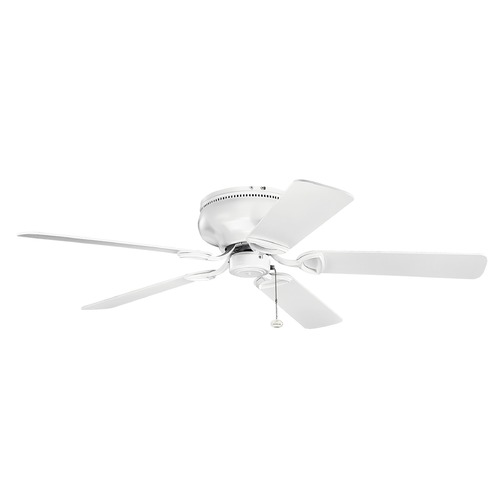 Kichler Lighting Kichler Lighting Stratmoor Matte White Ceiling Fan Without Light 339022MWH
