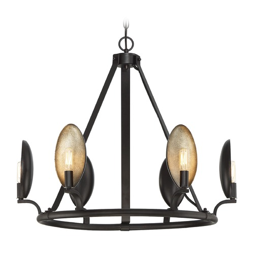 Savoy House Savoy House Lighting Prado Oiled Bronze Chandelier 1-3080-6-02