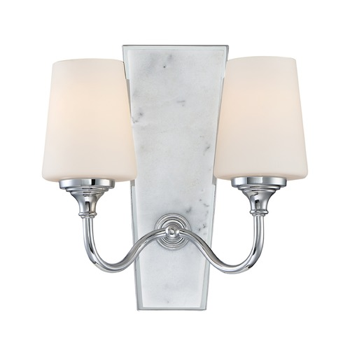 Designers Fountain Lighting Designers Fountain Lusso Chrome Sconce 88702-CH