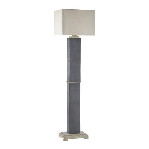 Dimond Lighting Dimond Elliot Bay Grey Slate Outdoor Floor Lamp D3093