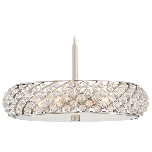Quoizel Lighting Quoizel Lighting Platinum Collection Legion Brushed Nickel Pendant Light PCLG2822BN