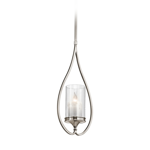 Kichler Lighting Kichler Mini-Pendant Light with Clear Glass 42865CLP