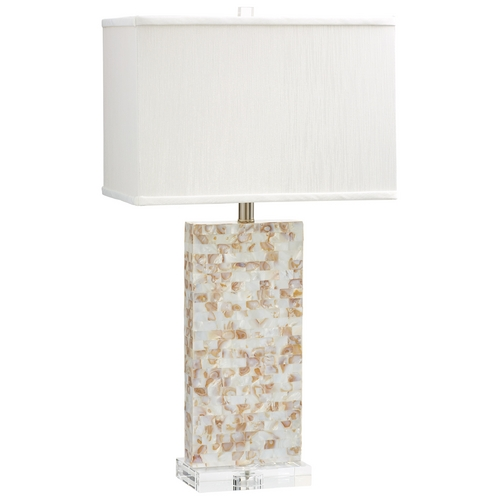 Cyan Design Cyan Design Palm Sands Mother Of Pearl Table Lamp with Rectangle Shade 06608