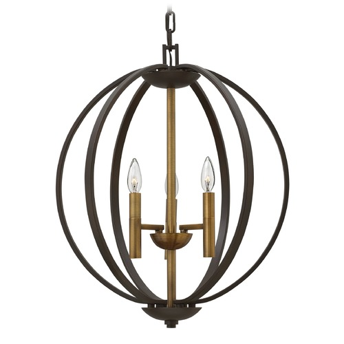 Hinkley Lighting Hinkley Lighting Euclid Spanish Bronze Pendant Light 3463SB