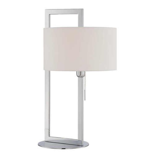 Lite Source Lighting Lite Source Lighting Lucetta Chrome Table Lamp with Drum Shade LS-22630