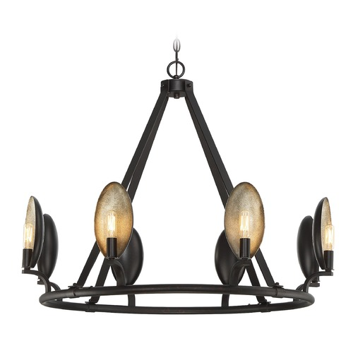 Savoy House Savoy House Lighting Prado Oiled Bronze Chandelier 1-3081-8-02