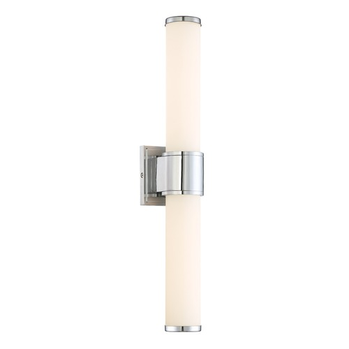 Designers Fountain Lighting Designers Fountain Linden Chrome LED Vertical Bathroom Light LED6872-CH