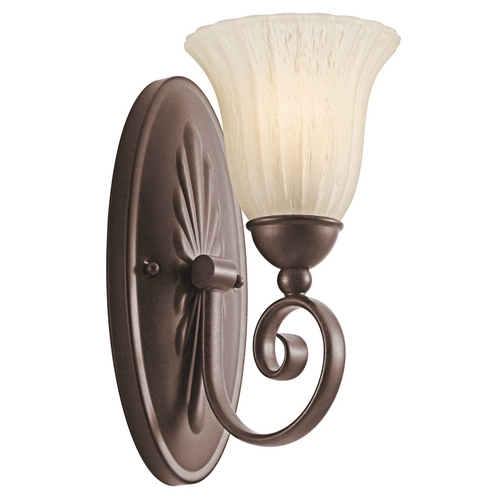 Kichler Lighting Kichler Sconce Wall Light in Bronze Finish 5926TZ