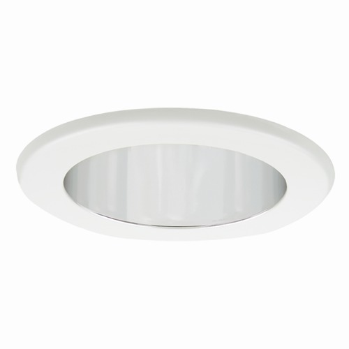 Elite Lighting Elite Lighting Clear Reflector/white Trim Recessed Trim B1402CL-WH
