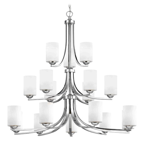 Design Classics Lighting Design Classics Dalton Fuse Chrome Chandelier 5863-26 GL1028C