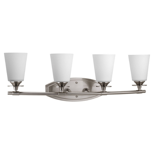 Progress Lighting Progress Lighting Cantata Brushed Nickel Bathroom Light P3249-09
