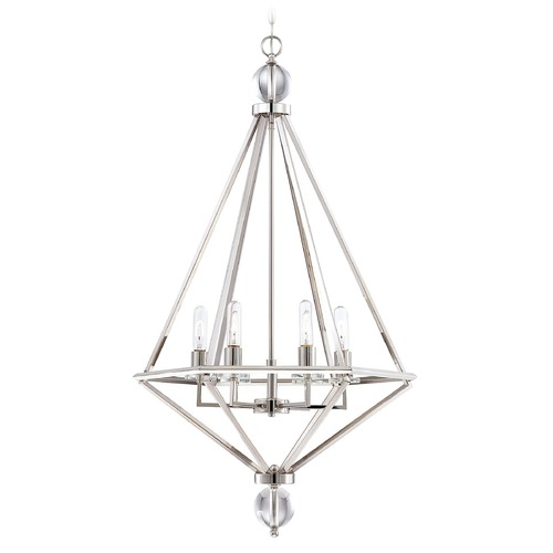 Savoy House Savoy House Lighting Tekoa Polished Nickel Pendant Light 7-680-6-109