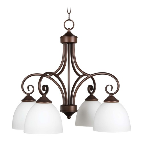 Craftmade Lighting Craftmade Lighting Raleigh Old Bronze Chandelier 25324-OB-WG