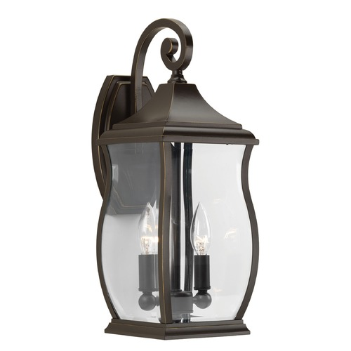 Progress Lighting Progress Lighting Township Oil Rubbed Bronze Outdoor Wall Light P5693-108