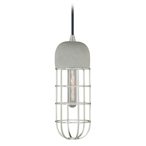 Vaxcel Lighting Vaxcel Lighting Satin Nickel Mini-Pendant Light P0074