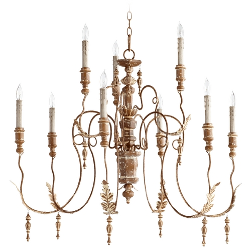 Quorum Lighting Quorum Lighting Salento French Umber Chandelier 6006-9-94