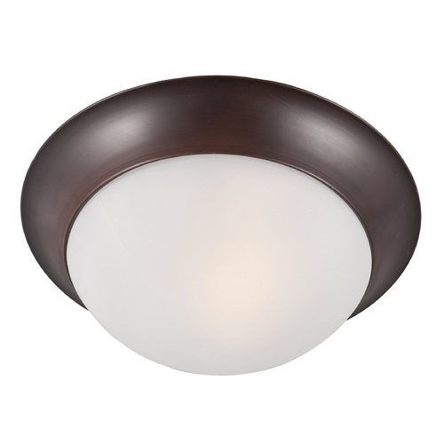 Maxim Lighting Maxim Lighting Essentials Oil Rubbed Bronze Flushmount Light 5850FTOI