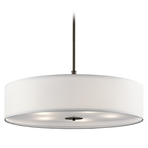 Kichler Lighting Kichler Lighting Pendant Light with Drum Shade 42196OZ