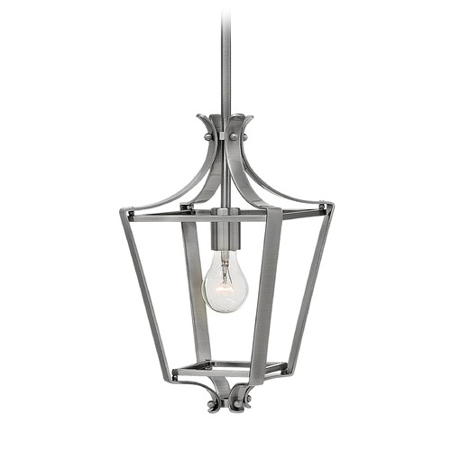 Hinkley Lighting Hinkley Lighting Fleming Polished Antique Nickel Pendant Light 4497PL