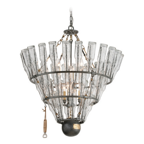 Troy Lighting Troy Lighting 121 Main Old Silver with Brass Accents Pendant Light F3946