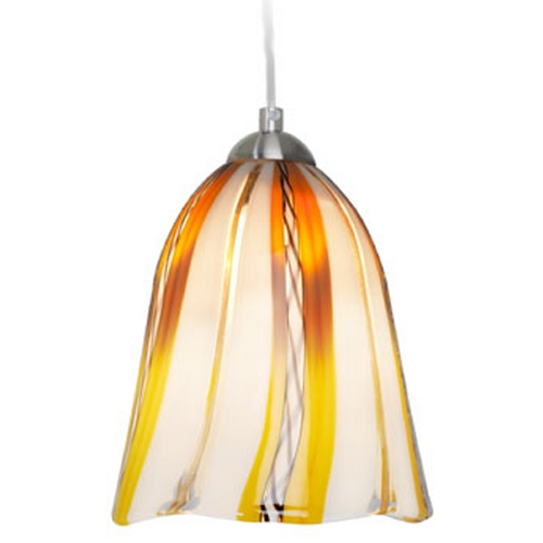 Oggetti Lighting Oggetti Lighting Amore Satin Nickel Mini-Pendant Light 18-L0159P