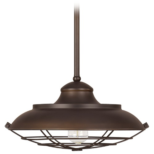 Capital Lighting Capital Lighting Pendant Burnished Bronze Pendant Light with Bowl / Dome Shade 4568BB