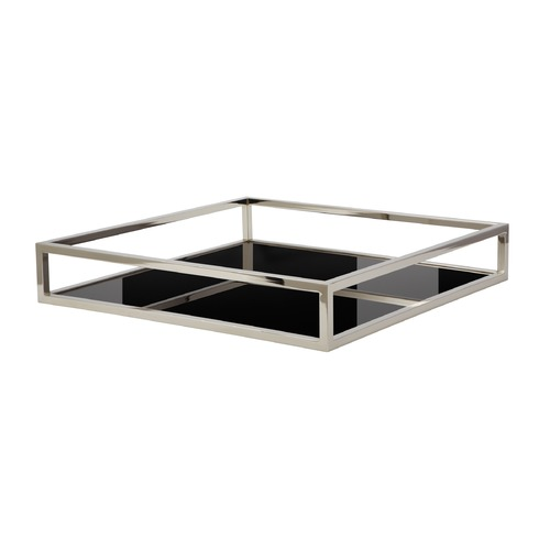 Dimond Home Black Box Rod Tray - Square 225066