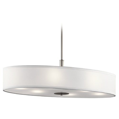 Kichler Lighting Kichler Lighting Pendant Light with Drum Shade 42197NI
