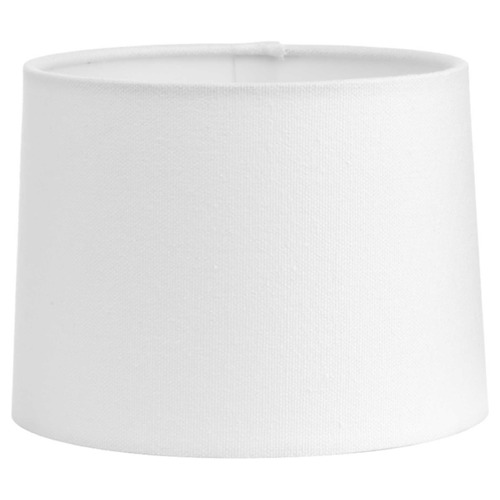 Progress Lighting White Sailcloth Empire Lamp Shade with Uno Assembly P860027-000