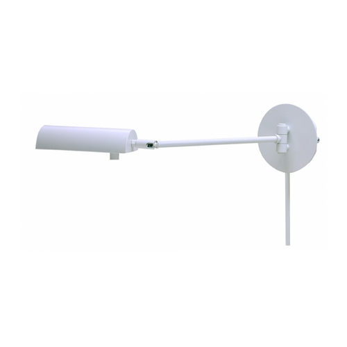 House of Troy Lighting Swing Arm Lamp in White Finish G175-WT