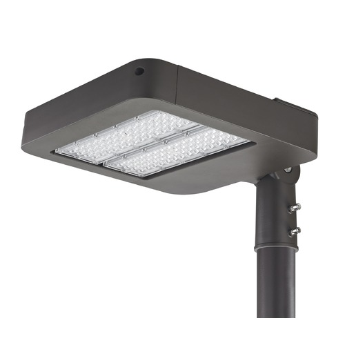 Recesso Lighting by Dolan Designs LED Shoebox Area Pole Light Bronze 100-Watt 120v-277v 11000 Lumens 4000K SB01-100W-40-BZ