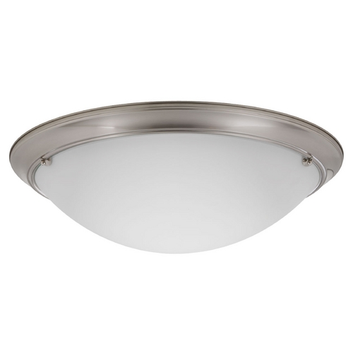 Progress Lighting Progress Lighting Eclipse Brushed Nickel Flushmount Light P3482-09