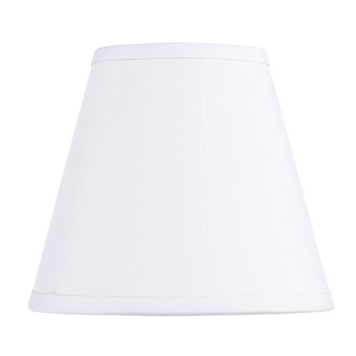 Livex Lighting Livex Lighting S299 Off White Empire Lamp Shade with Clip-On Lamp Shade Assembly S299
