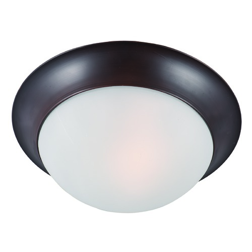 Maxim Lighting Maxim Lighting Essentials Oil Rubbed Bronze Flushmount Light 5851FTOI