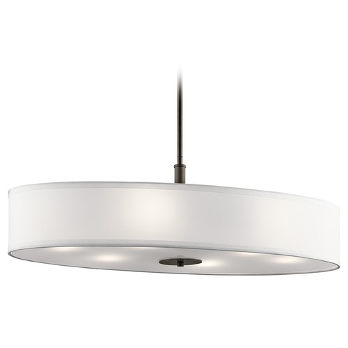 Kichler Lighting Kichler Lighting Pendant Light with Drum Shade 42197OZ
