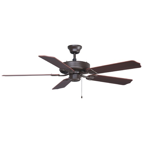 Fanimation Fans Fanimation Fans Aire Decor Oil-Rubbed Bronze Ceiling Fan Without Light BP200OB1