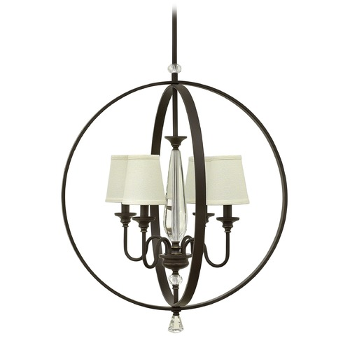 Hinkley Lighting Hinkley Lighting Waverly Oil Rubbed Bronze Chandelier 4604OZ