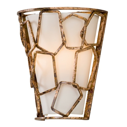Troy Lighting Troy Lighting Coda Antique Copper Leaf Sconce B5462