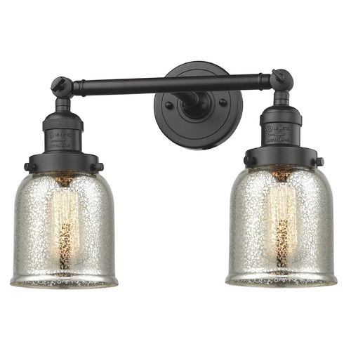 Innovations Lighting Innovations Lighting Small Bell Oil Rubbed Bronze Bathroom Light 208-OB-G58