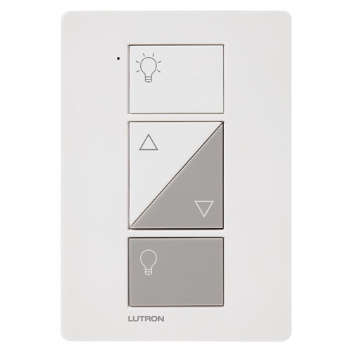Lutron Dimmer Controls Lutron Caseta White Dimmer Switch PD-3PCL-WH