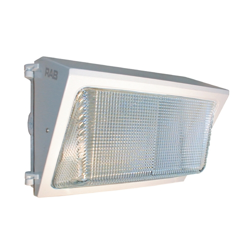 RAB Electric Lighting Security Light in White Finish - 42W WP2F42W