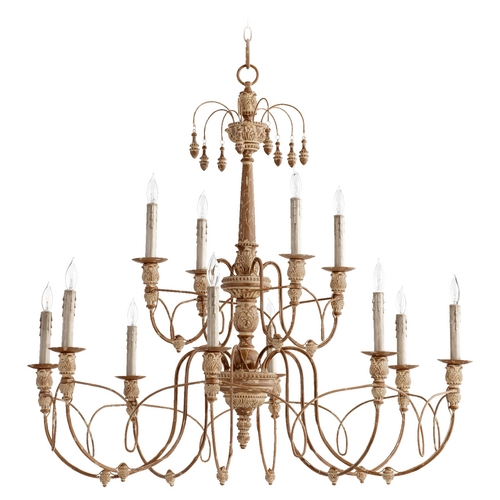 Quorum Lighting Quorum Lighting Salento French Umber Chandelier 6106-12-94