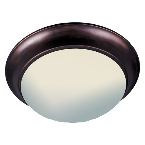 Maxim Lighting Maxim Lighting Essentials Oil Rubbed Bronze Flushmount Light 5852FTOI