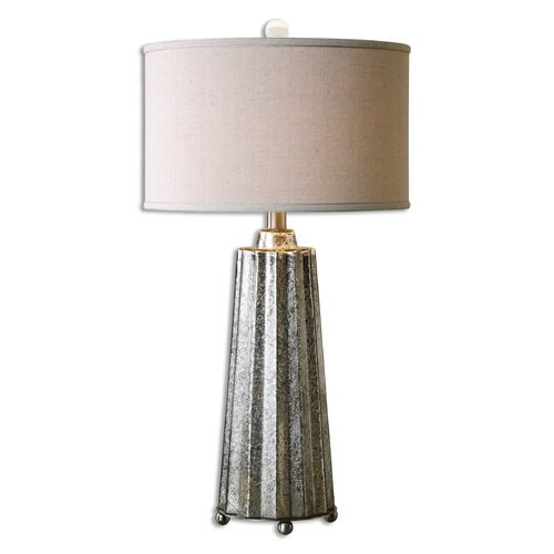 Uttermost Lighting Uttermost Sullivan Mercury Glass Table Lamp 26906-1
