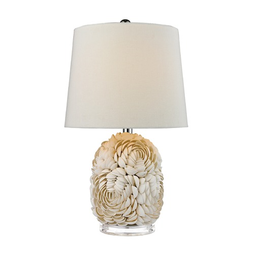 Dimond Lighting Dimond Lighting Natural Shell Table Lamp with Empire Shade D2655