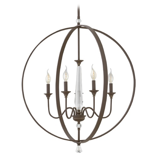 Hinkley Lighting Hinkley Lighting Waverly Oil Rubbed Bronze Chandelier 4605OZ
