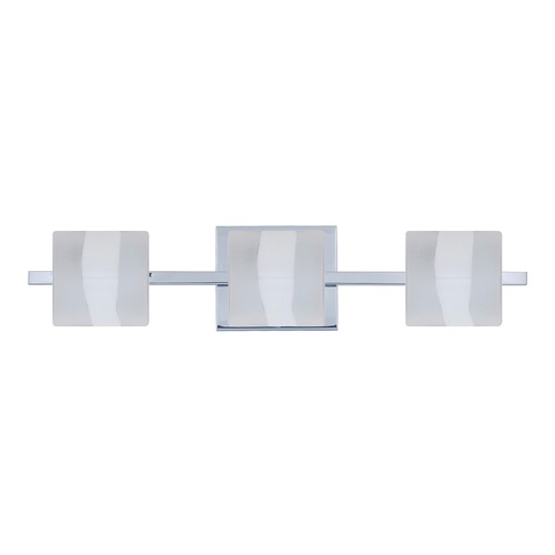 Besa Lighting Besa Lighting Paolo Chrome LED Bathroom Light 3WS-787399-LED-CR