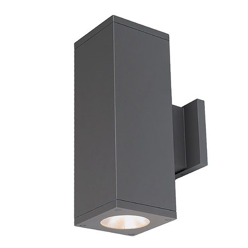 WAC Lighting Wac Lighting Cube Arch Graphite LED Outdoor Wall Light DC-WD05-F835S-GH